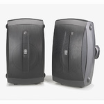 """Set of 2 High Performance 6.5"""" Outdoor 2-Way Speaker Black Product Image"""