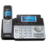 DECT 6.0 2-Line Expandable Cordless Phone 1 Handset Product Image