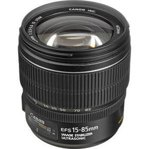 EF-S 15-85mm f/3.5-5.6 IS USM Lens Product Image