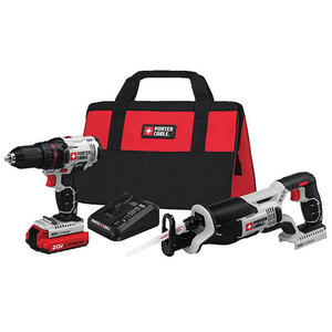 20V Max Drill & Reciprocating Saw Combo Kit Product Image