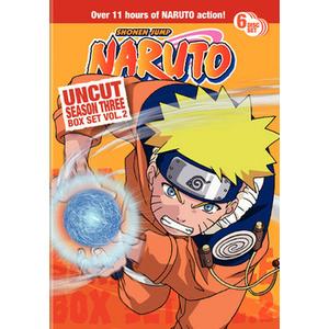 Naruto Uncut-Season 3 V02 Product Image