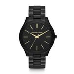 Ladies Slim Runway Black SS Watch Black Watch Product Image