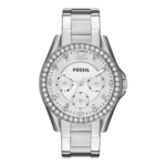 Fossil Women's Riley Multifunction Stainless Steel Watch Product Image