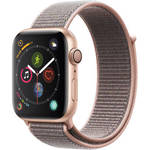 Watch Series 4 (GPS Only, 44mm, Gold Aluminum, Pink Sand Sport Loop) Product Image