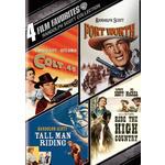 4 Film Favorites-Randolph Scott Westerns Product Image