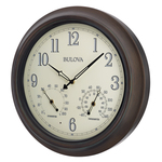 Weather Master Outdoor Wall Clock Product Image
