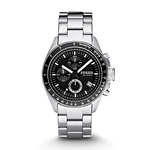 Mens Decker Chronograph Stainless Steel Watch Product Image