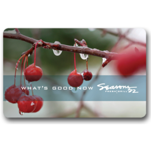 Seasons 52 eGift Card $25 Product Image