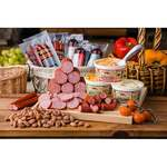 Sausage & Cheese w/ Gourmet Almonds 18pc Feast Set Product Image