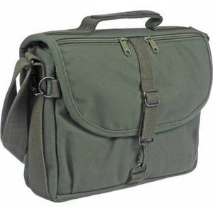 F-802 Reporter's Satchel Shoulder Bag (Olive Drab) Product Image