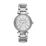 Ladies Parker Mini Silver-Tone Watch Product Image