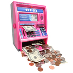 Talking ATM Machine Pink Product Image