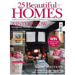 25 Beautiful Homes (UK) - 12 Issues - 1 Year