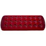 """8"""" x 16.25"""" Stoneware Deviled Egg Platter Cerise Product Image"""