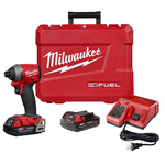 "M18 FUEL 1/4"" Hex Impact Driver CP Kit Product Image"