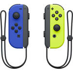 Joy-Con Controllers (Blue/Neon Yellow) Product Image