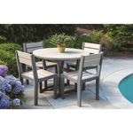 Cafe Fusion Round Dining Table plus Chairs Product Image