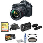 EOS 5D Mark IV DSLR Camera with 24-105mm f/4L II Lens Basic Kit Product Image