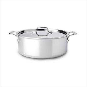 D3 Stainless Steel 6 Qt. Stock Pot with Lid Product Image