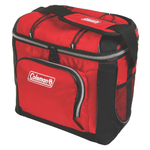 16 Can Soft-Sided Cooler w/ Plastic Liner Red Product Image