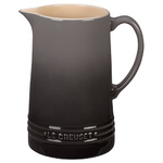 1.6qt Stoneware Pitcher Oyster Product Image