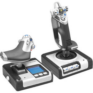 X52 H.O.T.A.S Throttle and Stick Simulation Controller Product Image