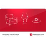 Overstock.com eGift Card $25 Product Image