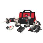 20V MAX 4-Tool Combo Kit - Drill/Driver Circ Saw Recip Saw Product Image