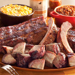 Kansas City Pork Platter Dinner KC BBQ Product Image