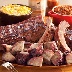 Kansas City Pork Platter Dinner KC BBQ Product Image