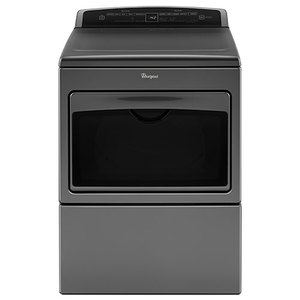 7.4 Cu Ft Top Load HE Electric Dryer Chrome Shadow Product Image