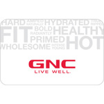 GNC Gift Card $25 Product Image