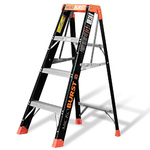Microburst 4 Ft. Fiberglass Stepladder Product Image