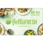 Hello Fresh eGift Card $60.00