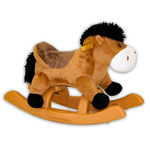 "24"" Brown Rocking Horse with Sound Product Image"