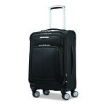 """Solyte DLX 22"""" Softside Expandable Spinner Black Product Image"""