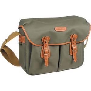 Hadley Large FiberNyte Shoulder Bag (Sage with Tan Leather Trim) Product Image