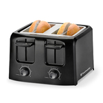 4-Slice Cool Touch Toaster Black Product Image