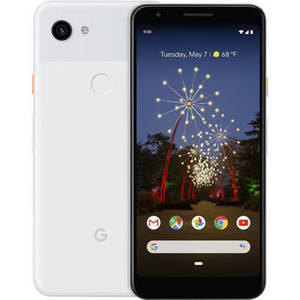 Pixel 3a Smartphone (Unlocked, Clearly White) Product Image