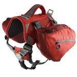 Big Baxter Backpack for Dogs 50-110 Lbs Chili/Barn Red Product Image