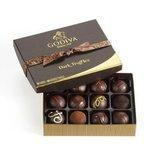 GODIVA® Dark Chocolate Truffles (12 Piece) Product Image