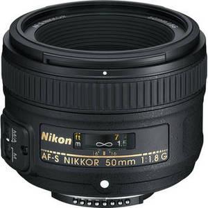 AF-S NIKKOR 50mm f/1.8G Lens Product Image