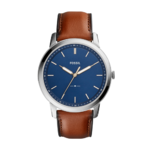 Fossil Men's The Minimalist Slim Three-Hand Leather Watch Product Image