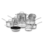 Cuisinart Chef's Classic Stainless 14-Piece Cookware Set Product Image
