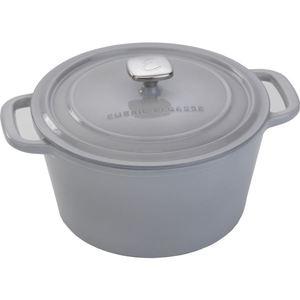 Enameled 6 Qt. Cast Iron Dutch Oven - Gray Product Image