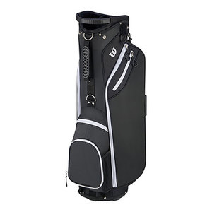 """W"" Cart Bag Black Product Image"