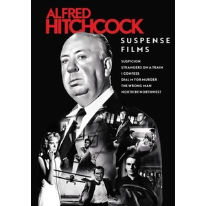 Alfred Hitchcock Suspense Films Collection Product Image