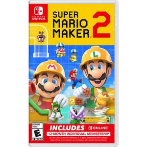 Super Mario Maker 2 + Nintendo Switch Online Bundle (Nintendo Switch) Product Image