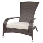 Coconino Wicker Adirondack Chair Mocha Product Image