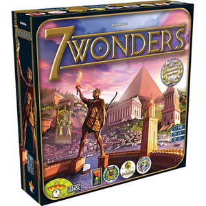 7 Wonders Board Game Ages 10+ Years Product Image